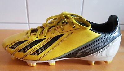 buy popular 3140b a7501 Adidas F50 ADIZERO TRX FG J gelb schwarz weiß Nocken Fußballschuhe Junior  US 4 gebraucht kaufen