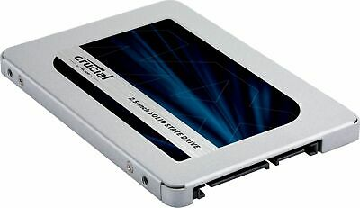 Crucial - MX500 2TB 3D NAND SATA 2.5 Inch Internal Solid State Drive