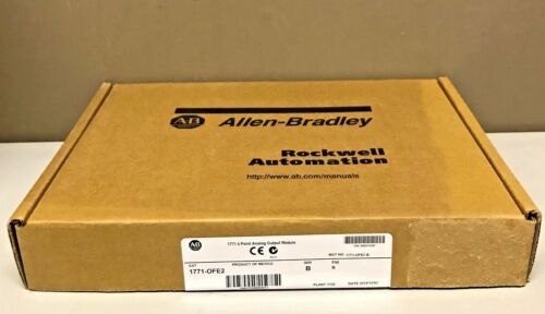 New Sealed Allen Bradley 1771-ofe2 /b 1771-0fe2 Plc-5 Analog Output Pkg Dec 2014
