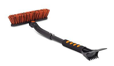 Small Car Brush and Ice Scraper with Foam Grip   Auto Snow Removal  
