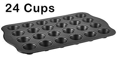 Non Stick Mini Muffin Pan - BN4504 HIGH QUALITY NON-STICK ALUMINUM MINI MUFFIN PAN (24 Cups)