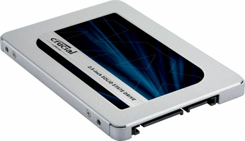 Crucial - MX500 500GB 3D NAND SATA 2.5 Inch Internal Solid State Drive