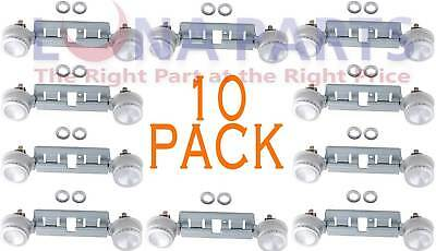 (10 PACK)WB16K10026 Gas Stove Top Double Burner Replacement AP2633210 PS232404