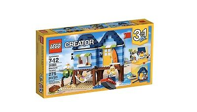 LEGO Creator 31063 Beachside Vacation, New And Factory Sealed 3 In 1 Set