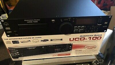 American Audio UCD-100 CD/USB MP3 Player  19