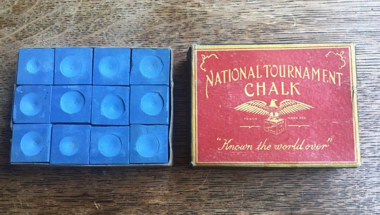 Vintage National Tournament Snooker Chalk