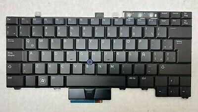 Genuine Dell Latitude E6400 E6410 E6500 E6500 Spanish Latin Keyboard VGHGD 7DCFW for sale  Shipping to Nigeria