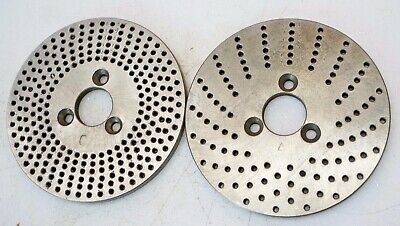Dividing Head Rotary Table Indexing Plates 3-78 Dia 1316 Bore 15-20 37-49