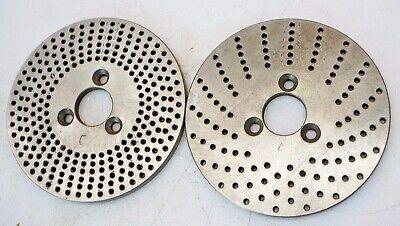 Dividing Head Rotary Table Indexing Plates 3-78 Dia 1316 Bore 15-20 37-49