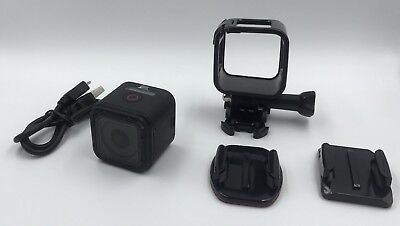 Black GoPro Hero 4 Session Action Video Camera With Accessories