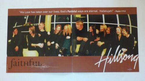 Hillsong Faithful  LP Record Photo Flat 12x24 Poster