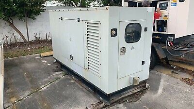 Diesel Generator 3 Phase 48 Kw Magtron White