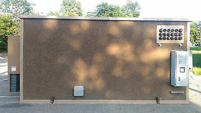 Concrete Communication Shelter Cabins Hunting Storage Bldg 10 X 20