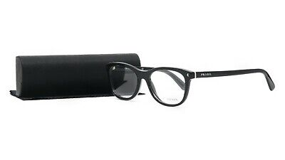 Prada Women's Black Glasses with case VPR 05R 1AB-1O1 53mm