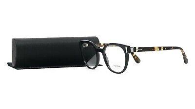 PRADA Women's Black Glasses with case VPR 06T 1AB-1O1 50mm
