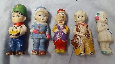 5 Vintage Antique Bisque Still Made Japan Japanese Dolls Doll FROZEN CHARLOTTE