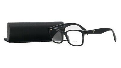 PRADA Women's Black Glasses with case VPR 18T 1AB-1O1 53mm