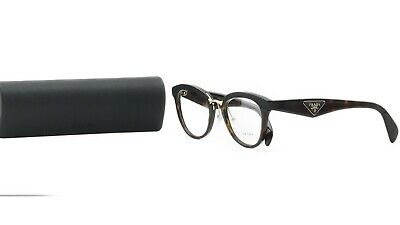 Prada Women's Tortoise Gold Glasses with case VPR 26S 2AU-1O1 51mm