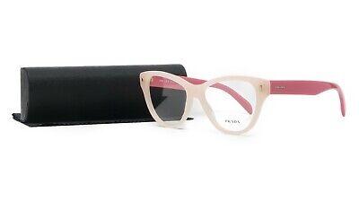Prada Women's Pink Glasses with case VPR 23S UEW-1O1 (Pink Eye Glasses)