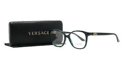 Versace Women's Green Tortoise/Crystals Glasses and case MOD 3235-B 5076 (Versace Prescription Glasses)