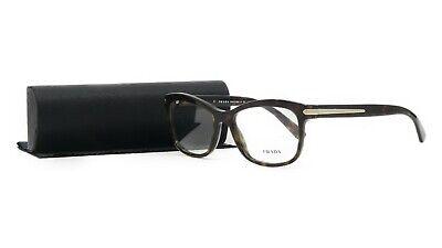 PRADA Women's Tortoise Glasses with case VPR 10R 2AU-1O1 55mm
