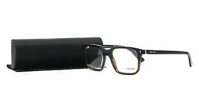 PRADA Women's Brown Glasses with case VPR 04R TKA-1O1 52mm