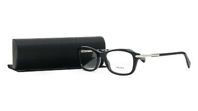 Prada Women's Black Glasses with case VPR 04P 1AB-1O1 54mm