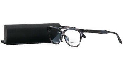 PRADA Women's Purple Violet Glasses with case VPR 24S-F UEQ-1O1 55mm