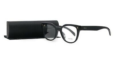Prada Women's Black Glasses with case VPR 21S 1AB-1O1 51mm