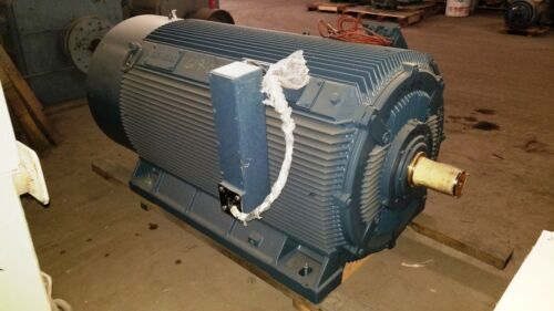 750 HP Siemens Electric Motor, 600 RPM, 880Z Frame, TEFC, 6600 V, 1.15 S.F., New