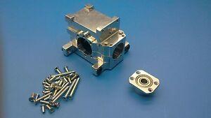 2 Stück Original Lauterbacher Alu-Differential-Box für Reely Carbon-Fighter 3