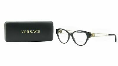 Versace Women's Black Glasses and Case MOD 3254 GB1 54mm