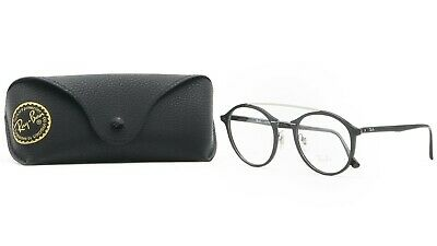 Eyeglasses With Lights (RAY-BAN Unisex Black Light Ray Glasses with case RB 7111 2000)
