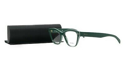Prada Women's Green Glasses with case VPR 27S UR1-1O1 51mm