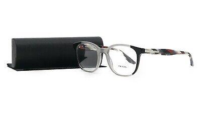 PRADA Women's Gray Glasses with case VPR 04U VYL-1O1 52mm