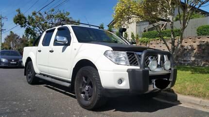 Nissan Navara 07 STX Turbo Diesel 4WD Ute