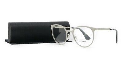 PRADA Women's White Glasses with case VPR 53T UBQ-1O1 52mm