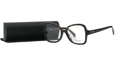 PRADA Women's Brown Butterfly Glasses with case VPR 25S-F 2AU-1O1 53mm
