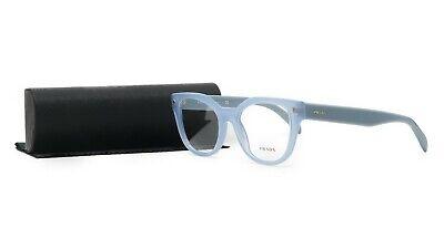 PRADA Women's Blue Glasses with case VPR 21S UEX-1O1 51mm