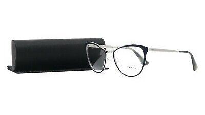 PRADA Women's Blue Glasses with case VPR 55T U6R-1O1 54mm