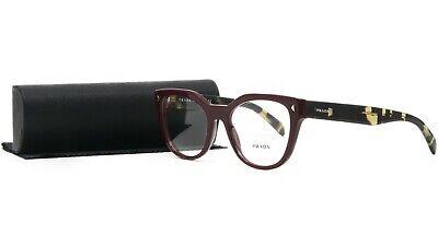 PRADA Women's Black Glasses with case VPR 21S USH-1O1 53mm