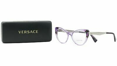 Versace Women's Purple Glasses and case MOD 3244 5240 51mm