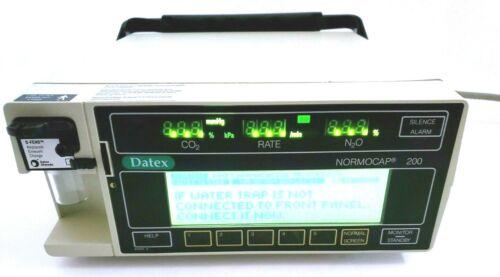 Datex-Ohmeda Normocap 200 Anesthesia Machine CD-200-28-00
