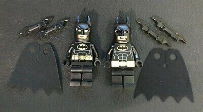 (2) LEGO BATMAN SH016a  SH318  Mini Figures DC Universe Super Heroes 2012 - 2018