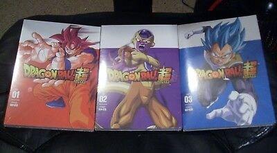 Dragon Ball Super Parts 1, 2 and 3 Episodes 1-39 DVD... NEW! FREE SHIPPING!!