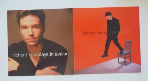 Richard Marx Days in Avalon LP Record Photo Flat 12x24 Poster