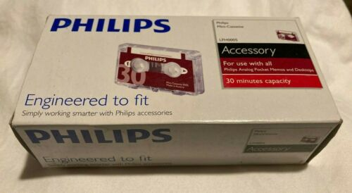 Philips Audio & Dictation Mini Cassette, 30 Minutes total FREE SHIPPING