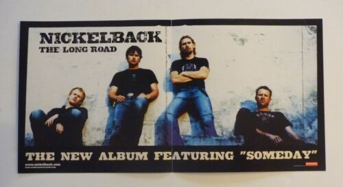 Nickelback The Long Road 2003 LP Record Photo Flat 12x24 Poster