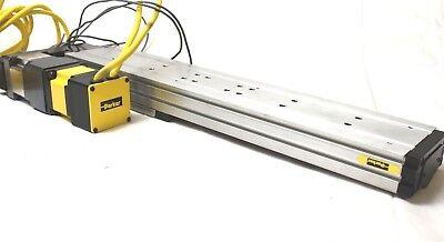 Parker 404300xrmsd2h3l2c1m11 Linear Actuator Positioner Stage Wmotor 20 Length