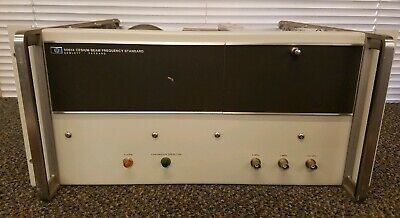 Hp - Agilent - Keysight 5061a Cesium Beam Frequency Standard Untested Option 04
